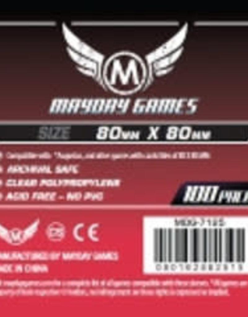 Mayday Games MDG-7125 «Cartes Carrés» 80mm X 80 mm / 100 (Commande spéciale)