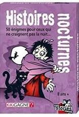 Kikigagne Black Stories: Junior: Histoires Nocturnes (FR)