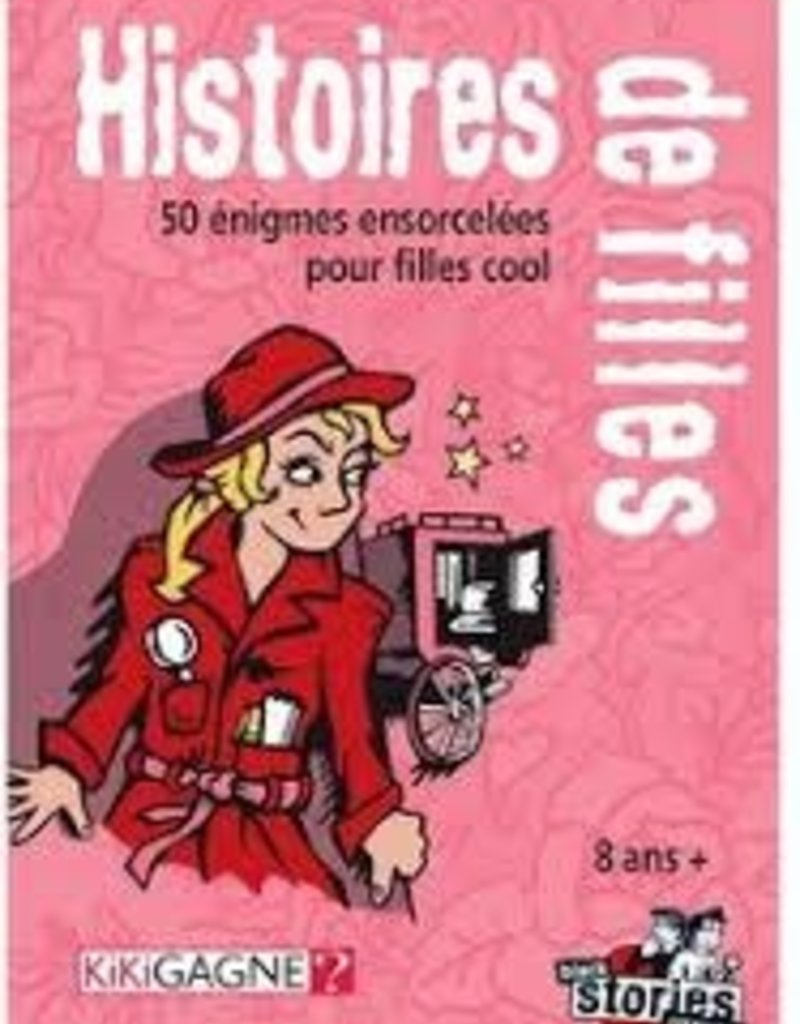 Kikigagne Black Stories: Junior: Histoires De Filles (FR)