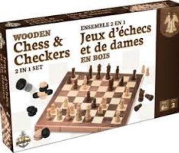 Jeux D`Échecs Et De Dames (ML)