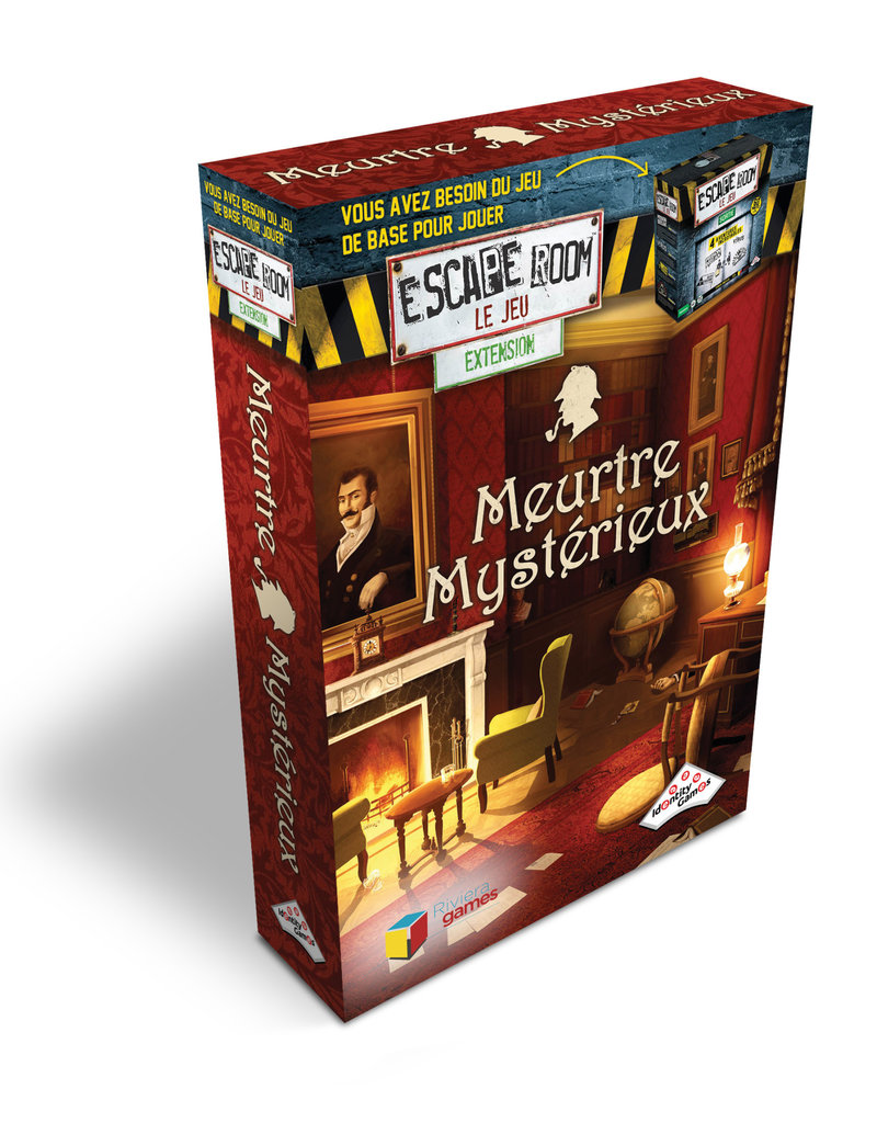Editions Gladius International Inc. Escape Room: Ext. Meurtre Mystérieux (FR)