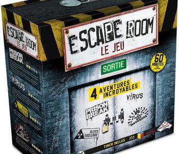 Escape Room: Coffret De Base (4 scénarios) (FR)