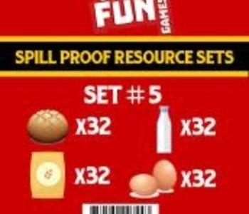 Spill Proof Resources Set 5 (EN)