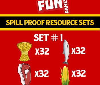 Spill Proof Resources Set 1 (EN)