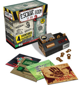 Identity Games Escape Room 2 : Coffret De Base (4 scénarios) (FR)