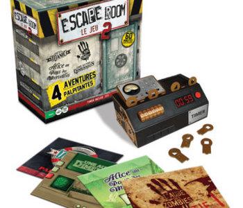 Escape Room 2 : Coffret De Base (4 scénarios) (FR)
