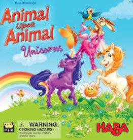 Haba Précommande: Animal Upon Animal: Unicorns (ML) Q1 2021