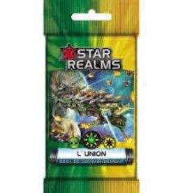Iello Précommande: Star Realms: Deck Commandement: L'Union (FR)  Novembre 2020