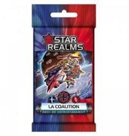 Iello Précommande: Star Realms: Deck Commandement: La Coalition (FR) Novembre 2020