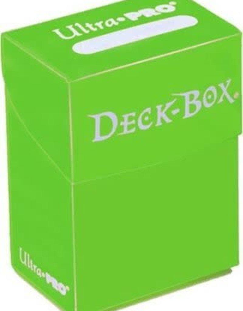 Ultra pro Deck Box: Vert Lime (75ct)