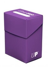 Ultra pro Deck Box: Violet (75ct)