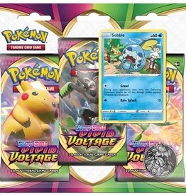 Pokemon Pokemon Sword & Shield 4 Vivid Voltage 3Pk Blister (EN)