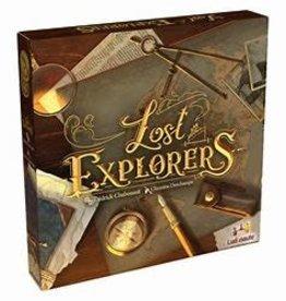 Ludonaute Précommande: Lost Explorers (EN) Q2 2021