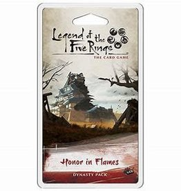 Fantasy Flight Games Précommande: Legend of the Five Rings LCG: Honor In Flames (EN) Commande spéciale