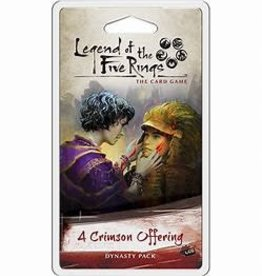 Fantasy Flight Games Legend of the Five Rings LCG: A Crimson Offering (EN)