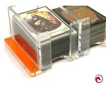 E-Raptor Card Holder: 2L Solid Transparent