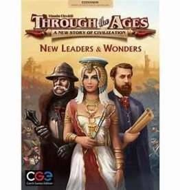 Czech Games Edition Précommande: Through the Ages: Ext. New Leaders And Wonders (EN) Déc. 2020