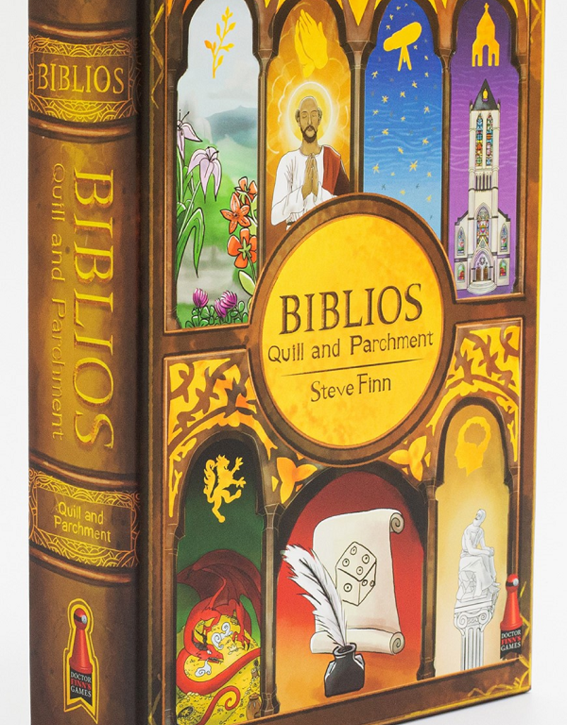 Dr Finn's Biblios: Quill And Parchment (EN)