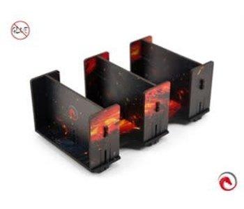 E-Raptor Card Holder: 2L Fullprint HDF Lava