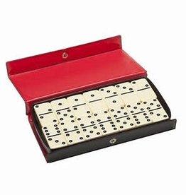 Wood Expressions Précommande: Dominoes, DBL 6 Black Dots Club Sized (EN) Q1 2021