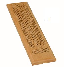Wood Expressions Précommande: Cribbage, 3-Track, Natural (EN) Q1 2021