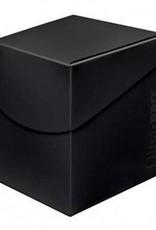 Ultra pro Deck Box: Noir (75ct)