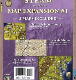 Mayfair Games Steam: Expansion #1 (EN)