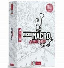 Pegasus Spiele Précommande: MicroMacro: Crime City (EN) Q1 2021