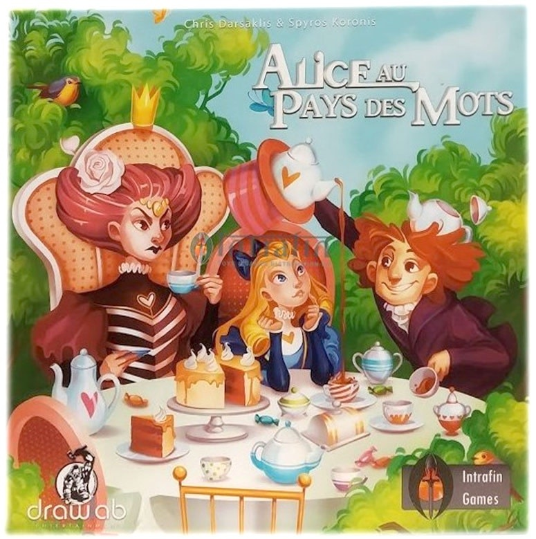 Alice Au Pays Des Mots (FR)