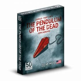 50 Clues: The Pendulum Of The Dead (#1) (EN)