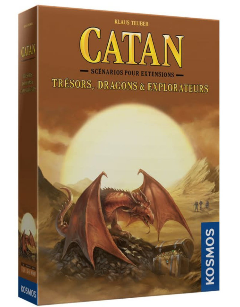 Thames & Kosmos Catan: Ext. Trésors, Dragon Et Explorateurs (FR)