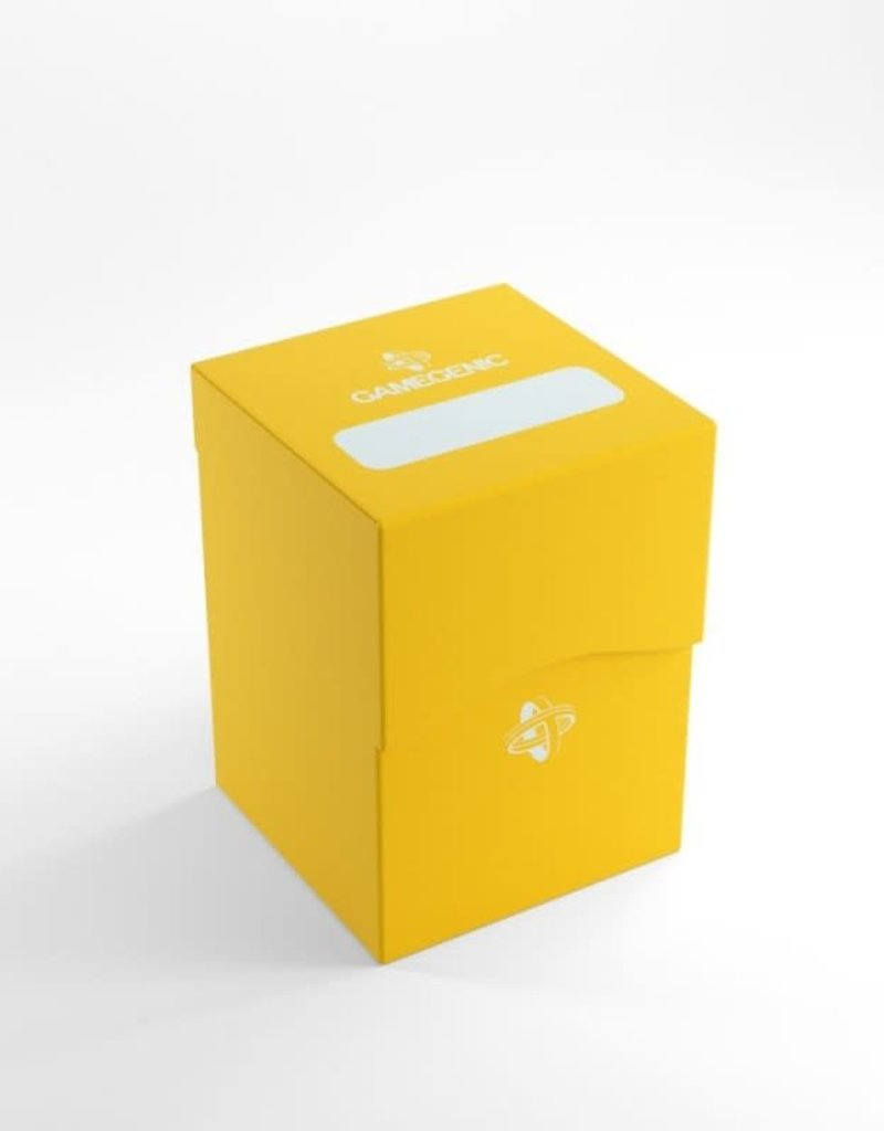 Gamegenic Deck Box: Jaune (100ct)