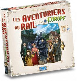 Days of Wonder Précommande:  Les Aventuriers Du Rails: Europe: 15ème Anniversaire (ML) Q2 2021: Avril à Juin 2021