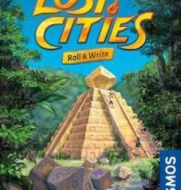 Thames & Kosmos Précommande: Lost Cities Roll And Write (EN) Q2 2021