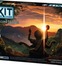 Thames & Kosmos Exit: The Sacred Temple (With Puzzle) (EN)