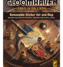 Cephalofair Games Précommande: Gloomhaven: Jaws Of The Lion: Removable Sticker Set And Map Q2 2021