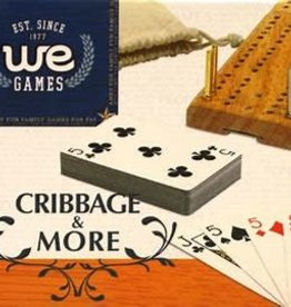 Monkey Mountain Cribbage & More: 12-In-1, W/Dice & Cards (EN)