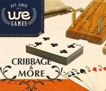 Cribbage & More: 12-In-1, W/Dice & Cards (EN)