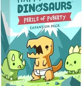 Tee Turtle Happy Little Dinosaurs: Ext. Perils Of Puberty (EN)