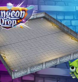 Phase Shift Games Précommande: Dungeon Drop: Dungeon Walls (EN)