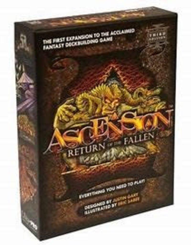 Marabunta Ascension: Ext. Return Of The Fallen (2nd Edition) (EN)
