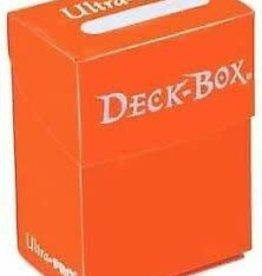 Ultra pro Deck Box: Orange (75ct)