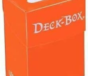 Deck Box: Orange (75ct)