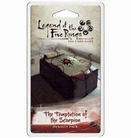 Fantasy Flight Games Legend of the Five Rings LCG: The Temptation Of The Scorpion (EN)