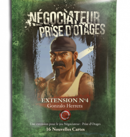 Don't Panic Games Négociateur Prise D'Otages: Ext. 4 (FR)