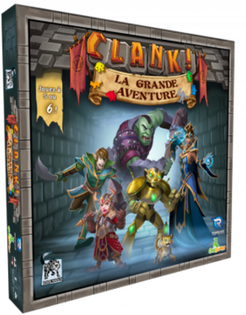 Origames Clank! La Grande Aventure (FR)