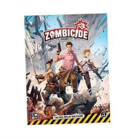 CMON Limited Précommande: Zombicide Chronicles: RPG Core Book (EN) Q2 2021