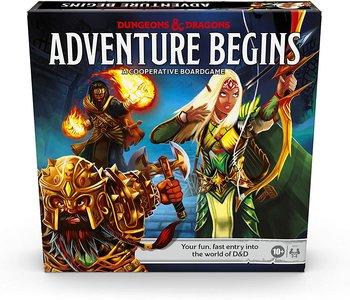 Dungeons & Dragons: Adventure Begins (EN)Boite Endommagée
