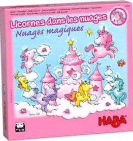 Haba Licornes Dans Les Nuages: Nuages Magiques (FR) boite endommagée