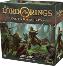 Fantasy Flight Games The Lord Of The Rings: Journeys In Middle-Earth (EN)Boite Endommagée